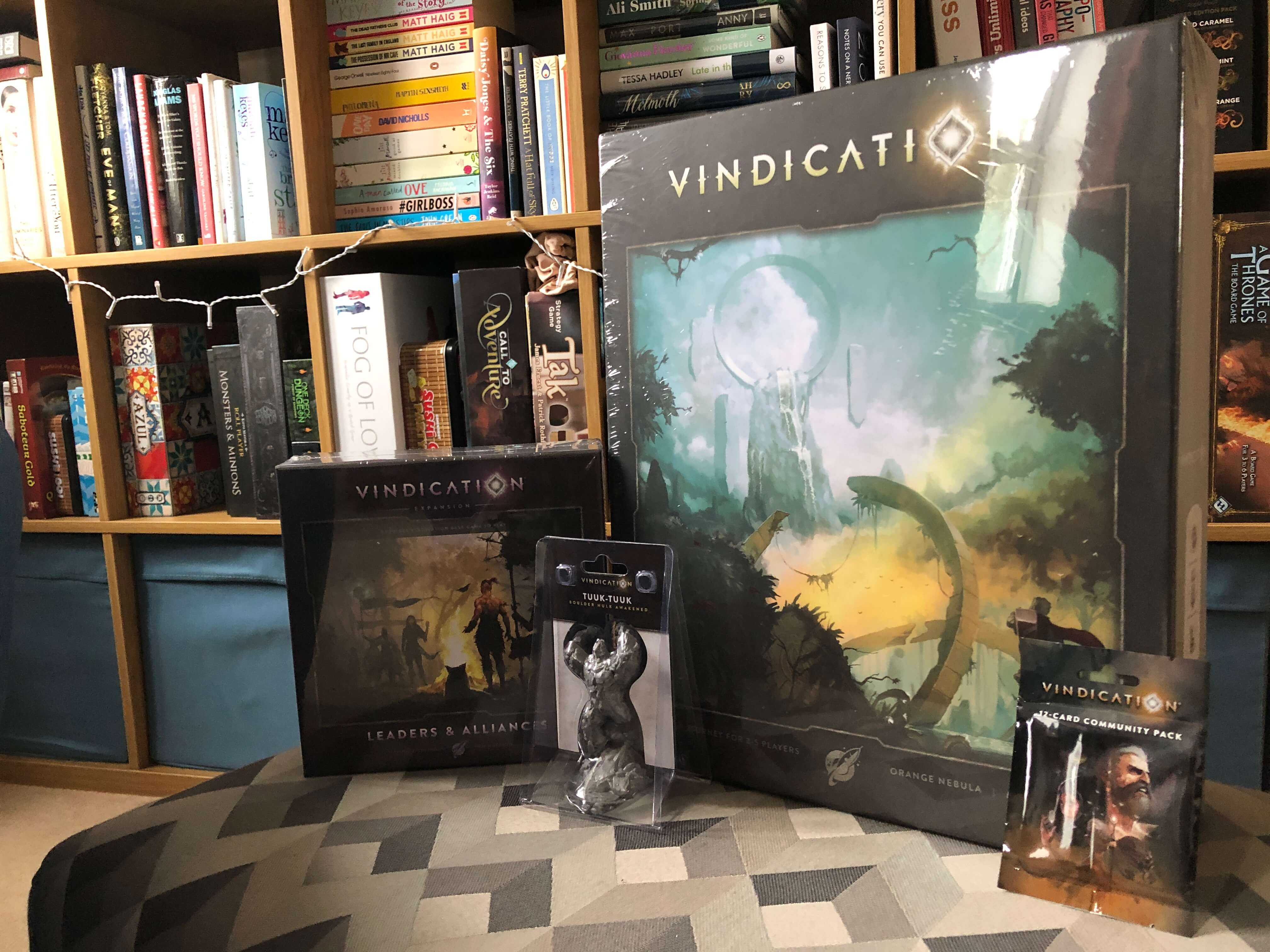 Vindication came in the mail yesterday and I'm really looking forward to giving this a play!